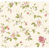 Botanical Fantasy AK7450Magnolia Wallpaper