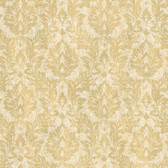 ART193520 Yellow Cottage Damask Wallpaper