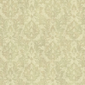 ART193522 Sage Cottage Damask Wallpaper