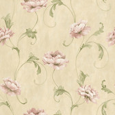 ART25011 Light Yellow Artemesia Wallpaper