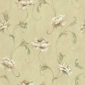 ART25012 Green Artemesia Wallpaper