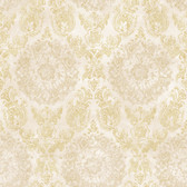ART25025 Cream Sofonisba Damask Wallpaper