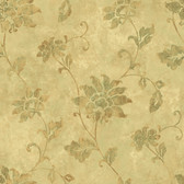 ART25032 Mustard Georgia Wallpaper