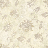 ART25033 Cream Georgia Wallpaper
