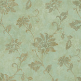 ART25034 Green Georgia Wallpaper