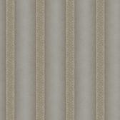 ART25114 Silver Elisabetta Stripe Wallpaper
