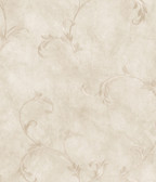 ARS26013 Gracie Grey Scroll Wallpaper Wallpaper