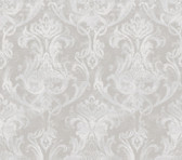 ARS26032 Elsa Blue Ornate Damask Wallpaper Wallpaper
