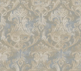 ARS26034 Elsa Ale Ornate Damask Wallpaper Wallpaper