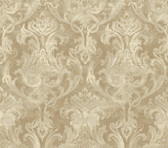 ARS26039 Elsa Bronze Ornate Damask Wallpaper Wallpaper