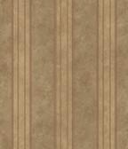 ARS26075 Giovanni Brown Tuscan Alternating Stripe Wallpaper Wallpaper