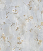 ARS26092 Shiva Ale Trumpet Floral Vine Wallpaper Wallpaper