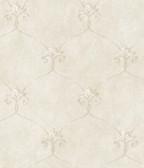 ARS26161 Tuscan Grey Shimmering Ogee Wallpaper Wallpaper