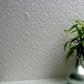 RD0151 Spencer Paintable Supaglypta Wallpaper