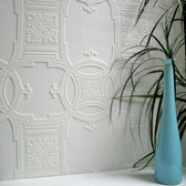 RD01600 Early Victorian Paintable Textured Vinyl Wallpaper