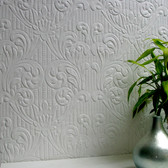 RD0630 Charles Paintable Supaglypta Wallpaper