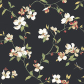 Botanical Fantasy GE9550 Dogwood Wallpaper