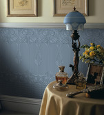 RD06680 Gothic Paintable Dado Wallpaper