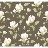 Botanical YV9000 Fantasy Magnolia Branch Wallpaper