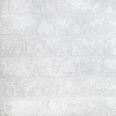 RD812 Lincolnshire Brick Paintable Luxury Vinyl Wallpaper