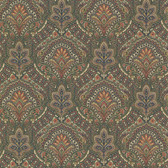 2604-21220 Cypress Sage Paisley Damask Wallpaper