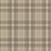 2604-21226 Caledonia Grey Plaid Wallpaper