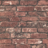 Oxford 2604-21258 - Brickwork Exposed Wallpaper Rust