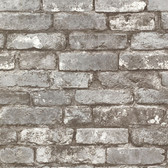Oxford 2604-21259 - Brickwork Exposed Wallpaper Pewter