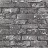 Oxford 2604-21260 - Brickwork Exposed Wallpaper Slate
