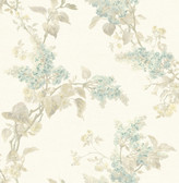 2766-002528 Lyon Cream French Lilac Wallpaper