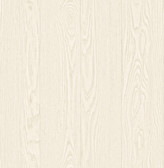 2766-003379 Groton Cream Wood Plank Wallpaper