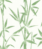 2766-003534 Catasetum Green Bamboo Wallpaper