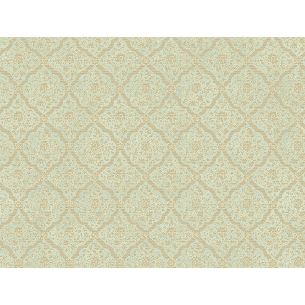 Brandywine Gl4645 Medallion Harlequin Wallpaper
