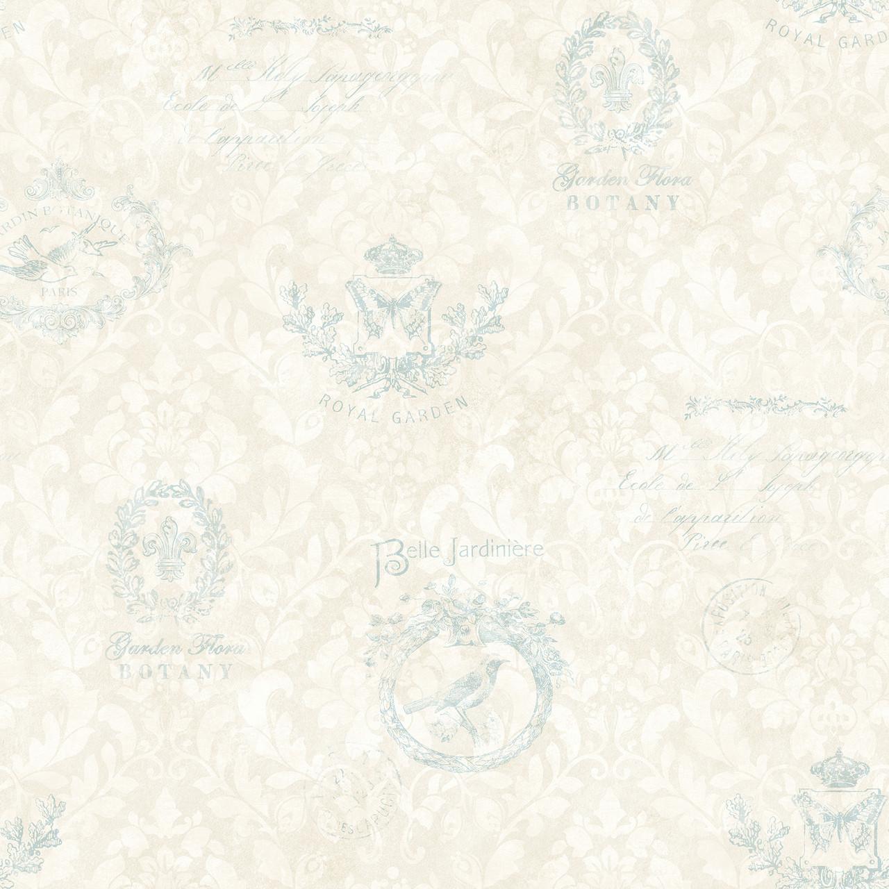 2766 02174 Manet Light Blue Damask Wallpaper Indoorwallpaper Com