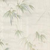2766-05018 Poales Cream Bamboo Wallpaper