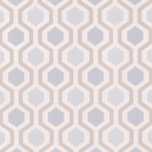 2766-20135 Kelso Light Blue Geometric Wallpaper
