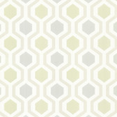2766-20136 Kelso Seafoam Geometric Wallpaper