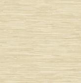 Kitchen & Bath Essentials 2766-22267 - Poa Faux Grasscloth Wallpaper Wheat