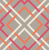 Kitchen & Bath Essentials 2766-22650 - Tuvalu Lattice Wallpaper Pink