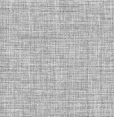 2766-24646 Barbary Black Crosshatch Texture Wallpaper