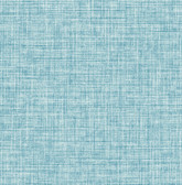 Kitchen & Bath Essentials 2766-24647 - Barbary Crosshatch Texture Wallpaper Blue