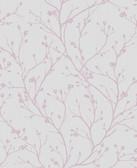 Kitchen & Bath Essentials 2766-42035 - Orchid Flower Branches Wallpaper Lavender