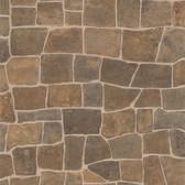 Kitchen & Bath Essentials 2766-44151 - Cattleya Slate Path Wallpaper Neutral