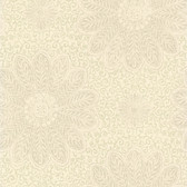 Kitchen & Bath Essentials 2766-66951 - Oxalis Floral Scroll Wallpaper Neutral