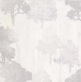 Kitchen & Bath Essentials 2766-95575 - Opuntia Tree Silhouettes Wallpaper Cream