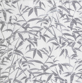 Kitchen & Bath Essentials 2766-95579 - Vanda Milano Leaves Wallpaper Grey