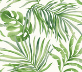 Candice Olson SO2450 - Paradise Palm Wallpaper Emerald