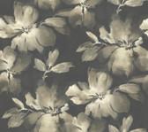 Candice Olson SO2471 - Midnight Bloom Wallpaper Black