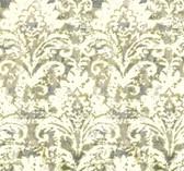 Cloud Nine NN7302 - Batik Damask Wallpaper Green