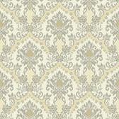 Waverly Small Prints WP2417 - Bedazzled Wallpaper Grey